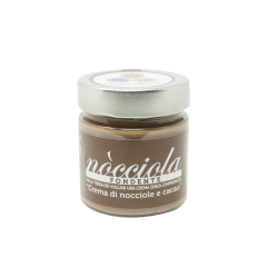 Crema Nòcciola Fondente 210 gr.