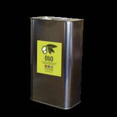 Olio Extra Vergine di Oliva Monocultivar Caninese 100% 3 Lt